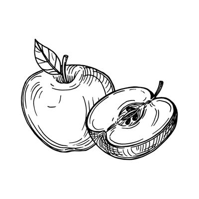 Obst bei Begrüßung