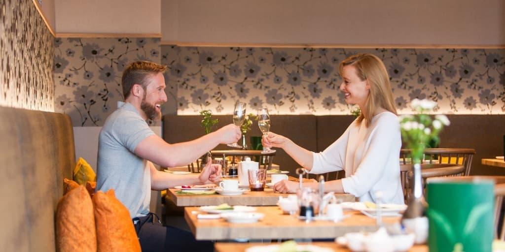 Frühstück im Wiesen-Restaurant Hotel Panorama Daun