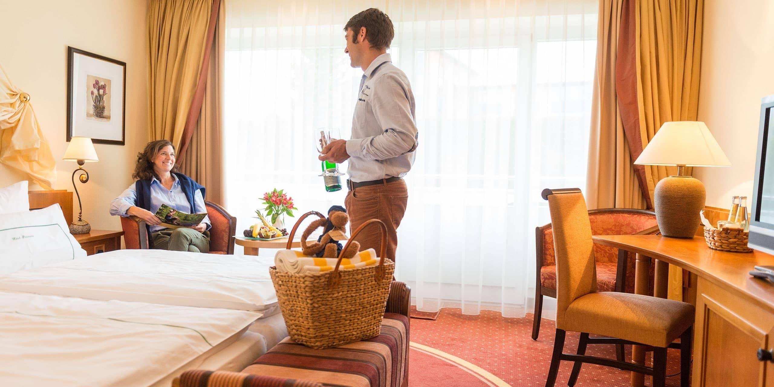 Zimmer Hotel Panorama Daun