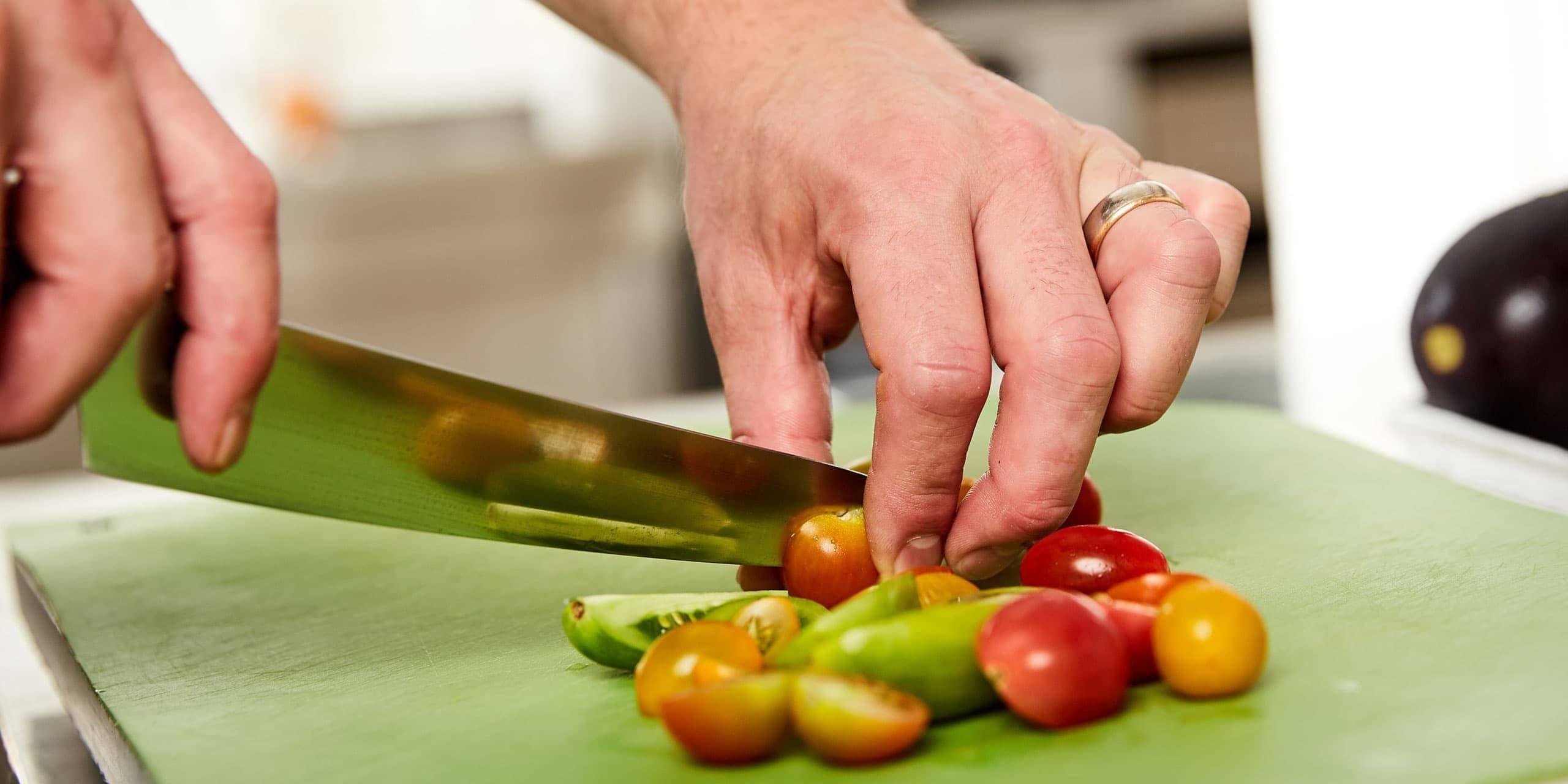 Tomaten in der Panorama Küche